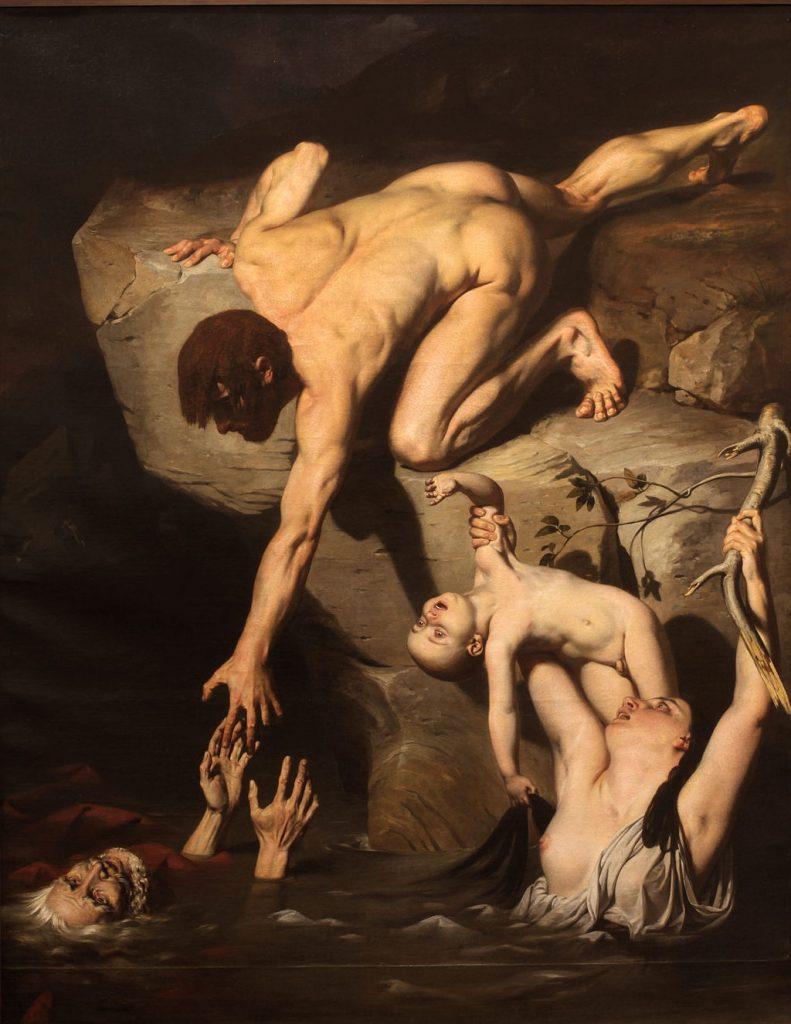 Scene of Deluge (Joseph Desire Court)